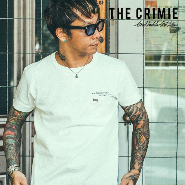 CRIMIE(クライミー) SLAB POCKET T-SHIRT 【2019SUMMER新作】 【CR01-01K3-CS04】【スラブポケット Tシャツ】