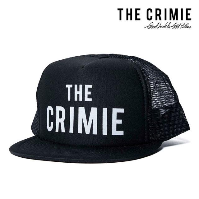 CRIMIE(クライミー) LOGO PRINT MESH CAP 【2019SUMMER新作】 【CR01-01K3-HW01】【メッシュキャップ】