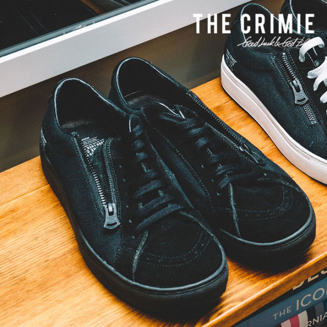 CRIMIE(クライミー) MELROSE ZIP SNEAKER 【2019SUMMER先行予約】 【キャンセル不可】【CR01-01K3-SB02】【スニーカー】