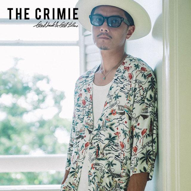 CRIMIE(クライミー) ALOHA JINBEI SHIRT 【2019SUMMER先行予約】 【キャンセル不可】【CR01-01K3-SH01】【アロハ シャツ】