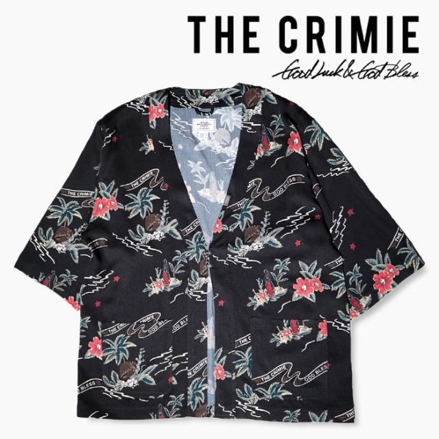 【SALE30%OFF】 CRIMIE(クライミー) CR ALOHA JINBEI SHIRT 【2019SUMMER新作】【送料無料】【セール】 【CR01-01K3-SH01A】【ア