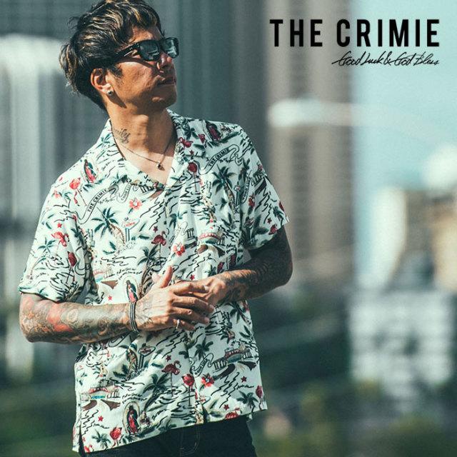 【SALE30%OFF】 CRIMIE(クライミー) ALOHA SHIRT 【2019SUMMER新作】【送料無料】 【CR01-01K3-SH02】【アロハ シャツ】【セール