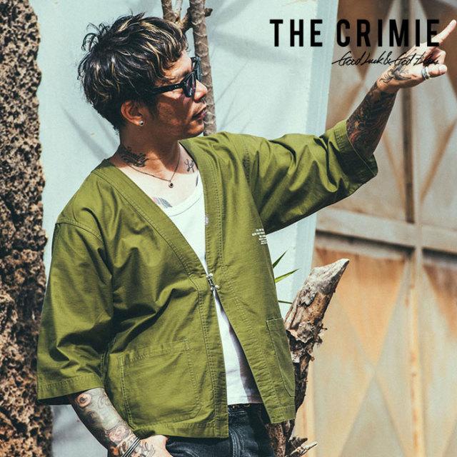 CRIMIE(クライミー) JOE MILITALY JINBEI SHIRT 【2019SUMMER先行予約】 【キャンセル不可】【CR01-01K3-SH03】【シャツ】