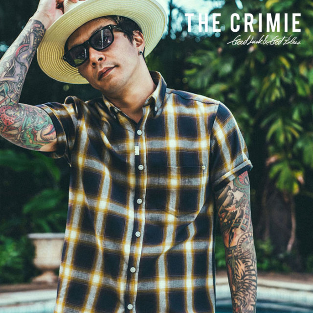 CRIMIE(クライミー) CHECK B.D SHIRT 【2019SUMMER先行予約】 【キャンセル不可】【CR01-01K3-SH07】【シャツ】