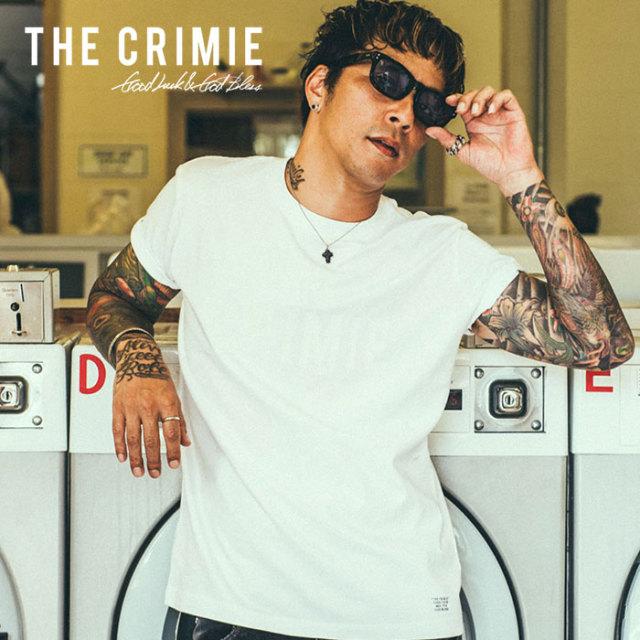 CRIMIE(クライミー) SAME COLOR LOGO T-SHIRT 【2019SUMMER新作】 【CR01-01K3-TE05】【Tシャツ】