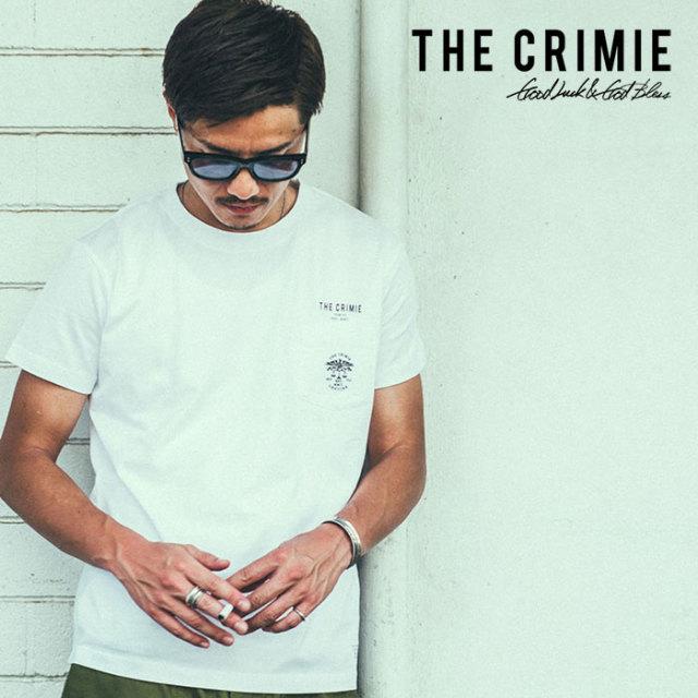 CRIMIE(クライミー) EAGLE LOGO POCKET T-SHIRT 【2019SUMMER新作】 【CR01-01K3-TE06】【Tシャツ】