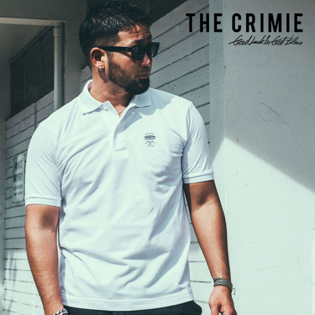 【SALE30%OFF】 CRIMIE(クライミー) POLO SHIRT 【2019SUMMER新作】【セール】 【CR01-01K3-TE10】【ポロシャツ】