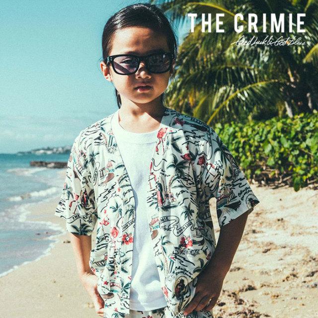 CRIMIE(クライミー) KIDS ALOHA JINBEI AND PANTS 【2019SUMMER先行予約】 【キャンセル不可】【CR01-01K3-SH01】【甚平セット】