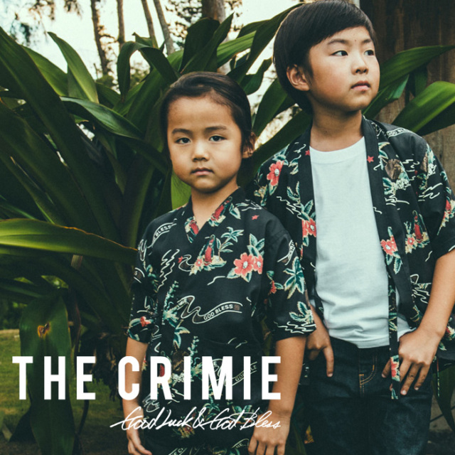 【SALE30%OFF】 CRIMIE(クライミー) CR ALOHA KIDS JINBEI SET UP 【2019SUMMER新作】【セール】 【CR03-01K3-SH01】【キッズ 甚