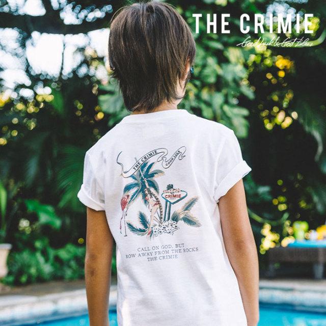 CRIMIE(クライミー) KIDS FLAMINGO ALOHA T-SHIRT 【2019SUMMER先行予約】 【キャンセル不可】【CR03-01K3-TE01】【キッズTシャツ