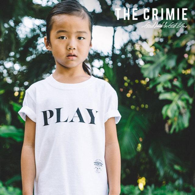 CRIMIE(クライミー) KIDS PLAY T-SHIRT 【2019SUMMER先行予約】 【キャンセル不可】【CR03-01K3-TE04】【キッズTシャツ】