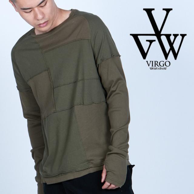 VIRGO ヴァルゴ バルゴ  JOINT POINT LS 【ロングスリーブTシャツ】【VG-CUT-435】【2021AUTUMN&WINTER先行予約】【キャンセル不可