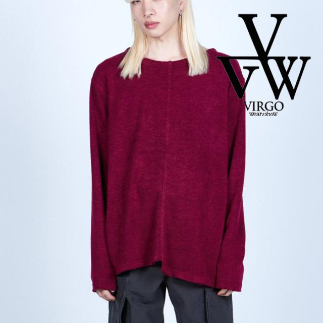 VIRGO ヴァルゴ バルゴ  CRACK 【カットソー】【VG-CUT-439】【2021AUTUMN&WINTER先行予約】【キャンセル不可】【VIRGOwearworks