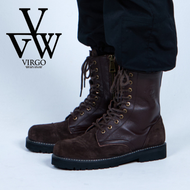 VIRGO ヴァルゴ バルゴ  NEW MIRITALIA SPECIAL BOOTS {2 FACE} 【ブーツ】【VG-GD-676】【2021AUTUMN&WINTER先行予約】【キャンセ