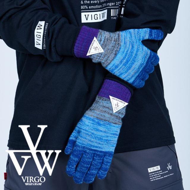 VIRGO ヴァルゴ バルゴ  DEFOLIATION GLOVES 【手袋】【VG-GD-680】【2021AUTUMN&WINTER先行予約】【キャンセル不可】【VIRGOwearw