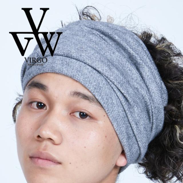 VIRGO ヴァルゴ バルゴ  3 WAY HAIR BAND 【ヘアバンド】【VG-GD-681】【2021AUTUMN&WINTER先行予約】【キャンセル不可】【VIRGOwe