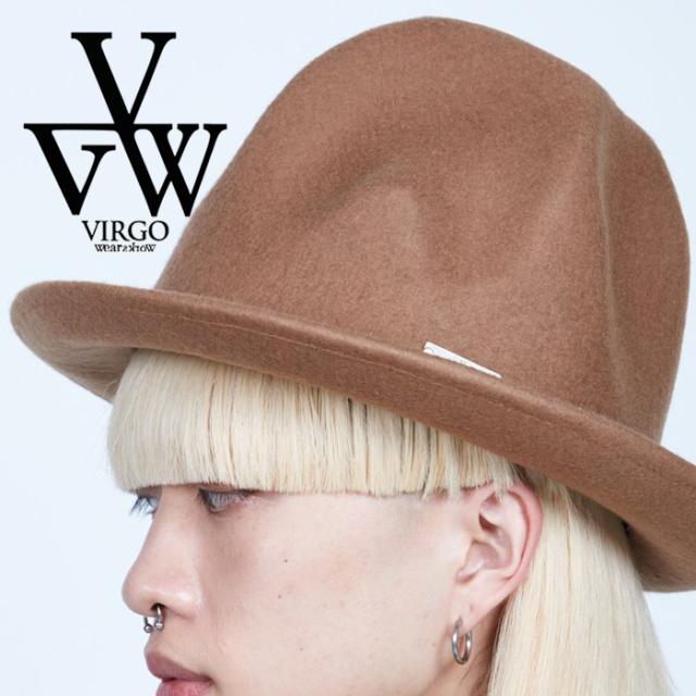 VIRGO ヴァルゴ バルゴ  SPECIAL MELTON MOUNTAIN HAT 【ハット】【VG-GD-684】【2021AUTUMN&WINTER先行予約】【キャンセル不可】