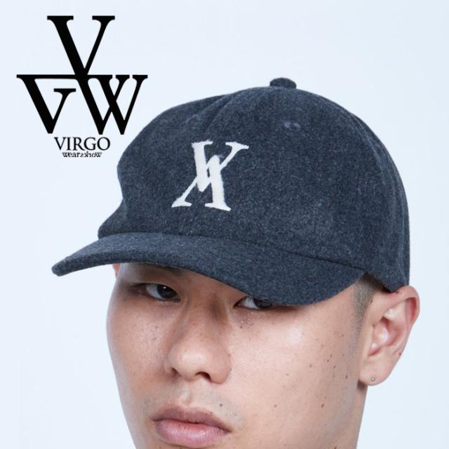 VIRGO ヴァルゴ バルゴ  CROSS V WOOL CAP 【キャップ 帽子】【VG-GD-685】【2021AUTUMN&WINTER先行予約】【キャンセル不可】【VIR