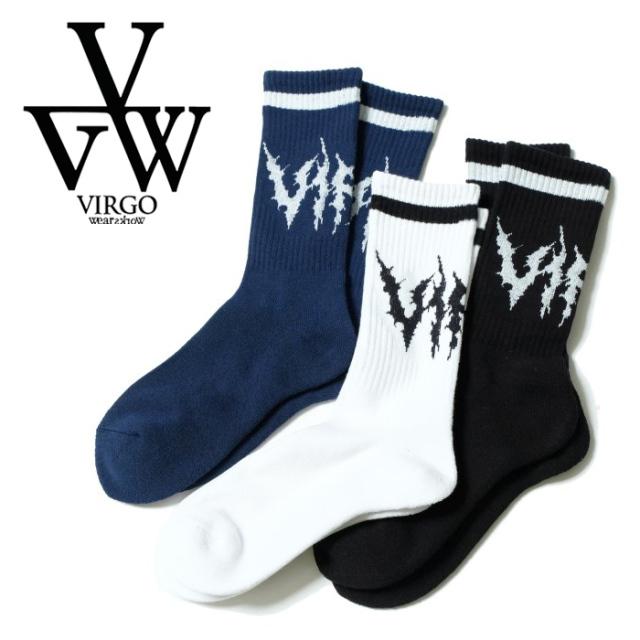 VIRGO ヴァルゴ バルゴ  CRUST SOX 【ソックス 靴下】【VG-GD-689】【2021AUTUMN&WINTER先行予約】【キャンセル不可】【VIRGOwearw