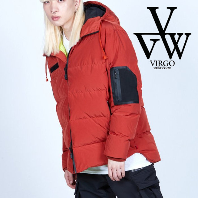 VIRGO ヴァルゴ バルゴ  SUSTAINABLE PROTECT DOWN 【ダウンジャケット】【VG-JKT-340】【2021AUTUMN&WINTER先行予約】【キャンセ