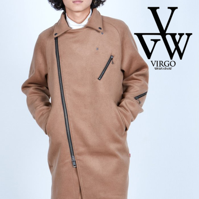 VIRGO ヴァルゴ バルゴ  STRUMMER CHESTER COAT 【チェスターコート】【VG-JKT-341】【2021AUTUMN&WINTER先行予約】【キャンセル不