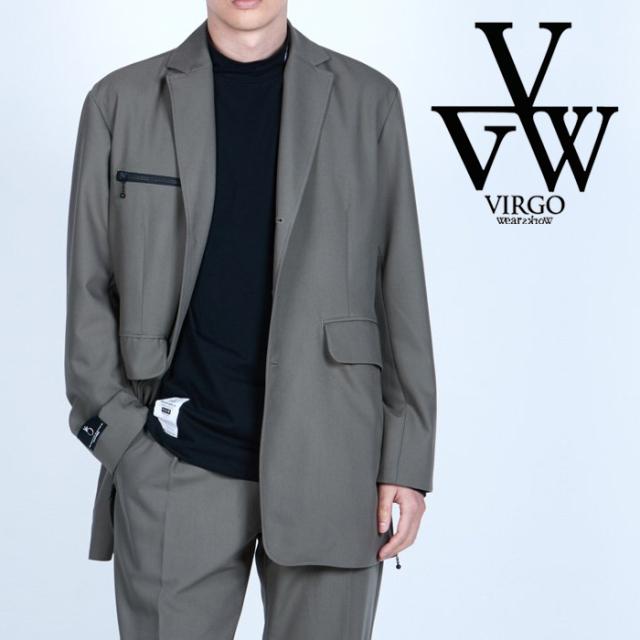 VIRGO ヴァルゴ バルゴ  MIDDLE TAILORED JKT 【テーラードジャケット】【VG-JKT-344】【2021AUTUMN&WINTER先行予約】【キャンセル