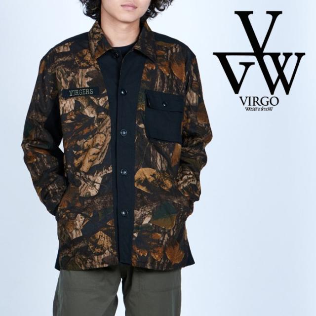 VIRGO ヴァルゴ バルゴ  ILLUSION FOREST JKT 【シャツジャケット】【VG-JKT-347】【2021AUTUMN&WINTER】【お取り寄せ商品 キャン