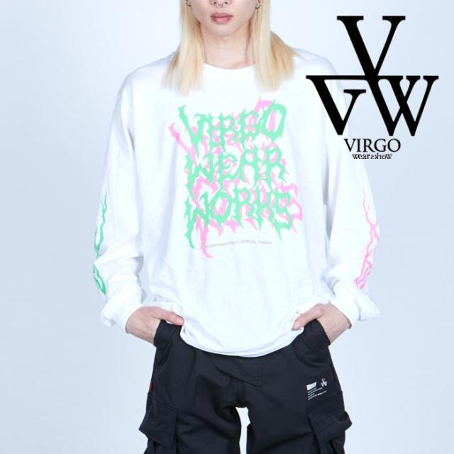 VIRGO ヴァルゴ バルゴ  CRAZY CRUST LS 【ロングスリーブTシャツ】【VG-LSPT-73】【2021AUTUMN&WINTER先行予約】【キャンセル不可