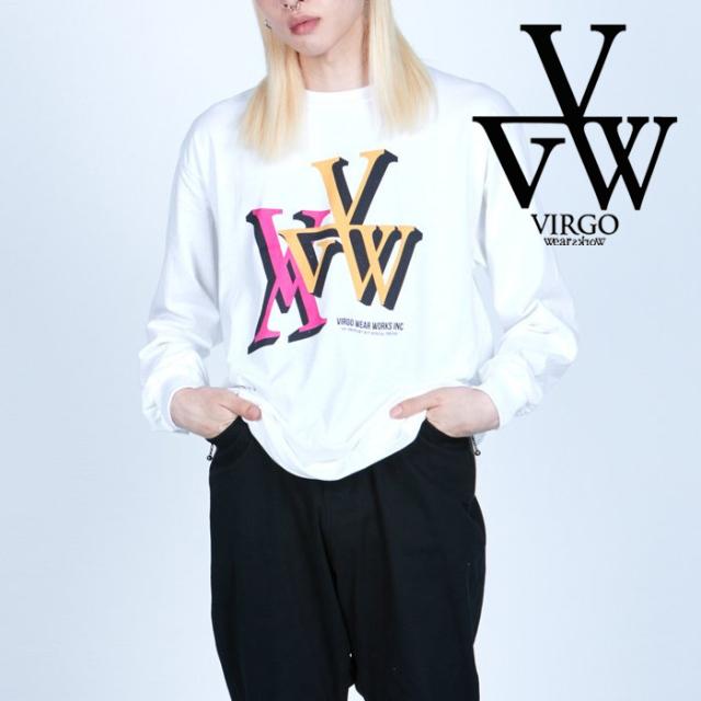 VIRGO ヴァルゴ バルゴ  CLASSIC ART BOX LS 【ロングスリーブTシャツ】【VG-LSPT-74】【2021AUTUMN&WINTER先行予約】【キャンセル