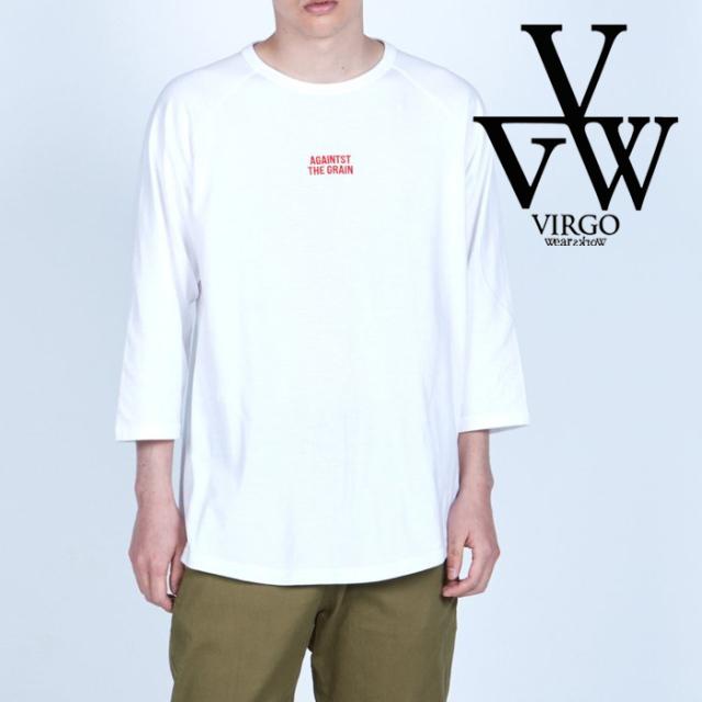 VIRGO ヴァルゴ バルゴ  AGAINST 3/4 LS 【ロングスリーブTシャツ】【VG-LSPT-76】【2021AUTUMN&WINTER先行予約】【キャンセル不可