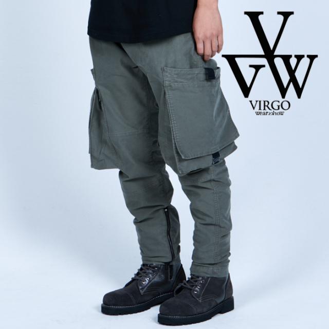 VIRGO ヴァルゴ バルゴ  SQUARE PKT SPECIAL CARGO 【カーゴパンツ】【VG-PT-364】【2021AUTUMN&WINTER先行予約】【キャンセル不可