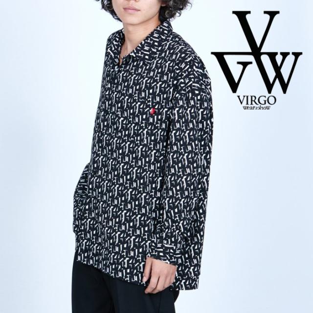 VIRGO ヴァルゴ バルゴ  VISION WIDE SHIRTS 【ワイドシャツ 長袖】【VG-SH-232】【2021AUTUMN&WINTER新作】【VIRGOwearworks ヴァ