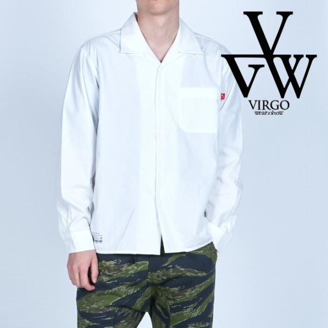 VIRGO ヴァルゴ バルゴ  ATG SHIRT 【シャツ 長袖】【VG-SH-233】【2021AUTUMN&WINTER先行予約】【キャンセル不可】【VIRGOwearwor