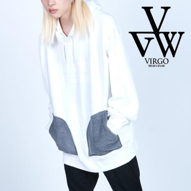 VIRGO ヴァルゴ バルゴ  ATG BRUSHED PKT HOODIE 【パーカー】【VG-SWT-135】【2021AUTUMN&WINTER先行予約】【キャンセル不可】【V