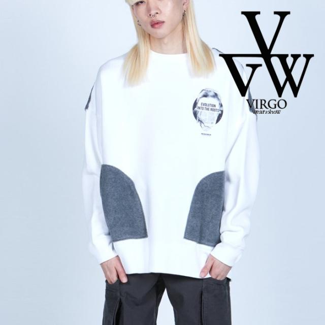 VIRGO ヴァルゴ バルゴ  BRUSHED PKT SWEATSHIRT 【スウェット】【VG-SWT-137】【2021AUTUMN&WINTER先行予約】【キャンセル不可】
