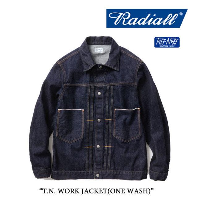 RADIALL(ラディアル) T.N. WORK JACKET(ONE WASH) 【送料無料】【RADIALL アウター】