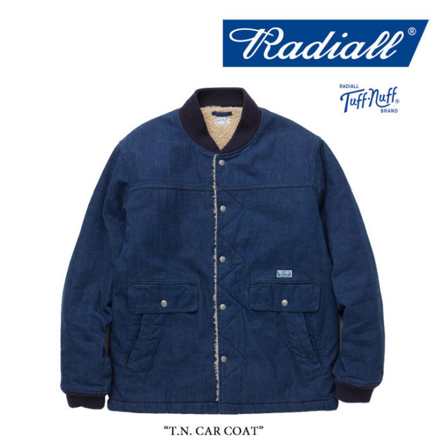 RADIALL(ラディアル) T.N. CAR COAT 【2017AUTUMN/WINTER新作】 【送料無料】【即発送可能】 【RADIALL アウター】 【RAD-17AW-