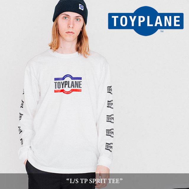 【SALE40%OFF】 TOYPLANE(トイプレーン) L/S TP SPRIT TEE 【2017AUTUMN/WINTER新作】 【即発送可能】 【TP17-FTE06】