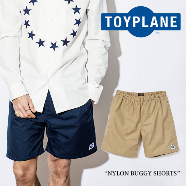 【SALE50%OFF】TOYPLANE(トイプレーン) NYLON BUGGY SHORT 【2017SPRING/SUMMER新作】 【即発送可能】 【TP17-HPT05】