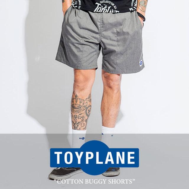 【SALE50%OFF】 TOYPLANE(トイプレーン) COTTON BUGGY SHORTS 【2017SUMMER新作】 【即発送可能】 【TOYPLANE パンツ】 【TP17