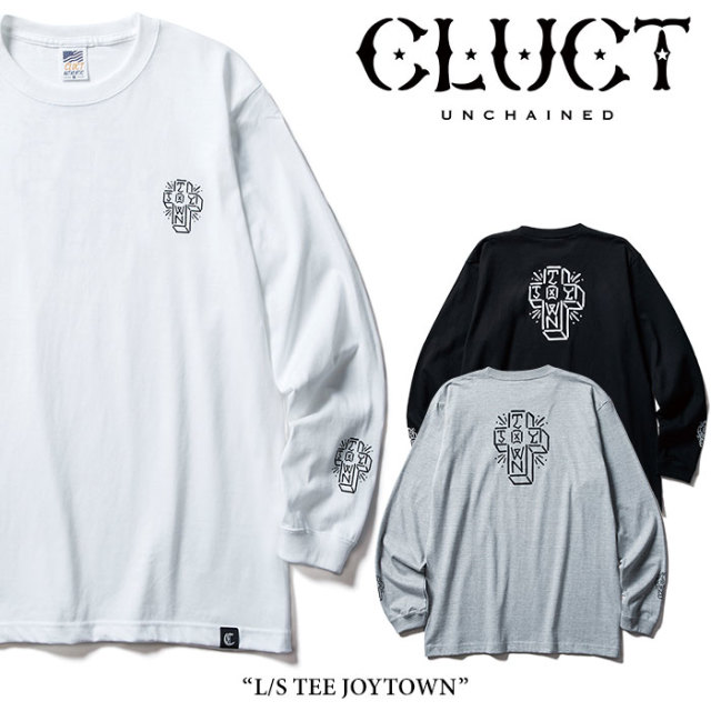 CLUCT(クラクト) L/S TEE JOYTOWN 【2018AUTUMN新作】【#02785】