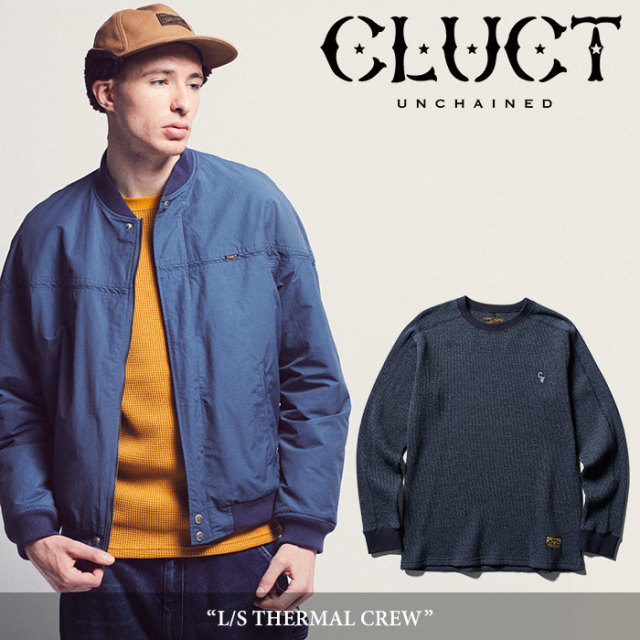 CLUCT(クラクト) L/S THERMAL CREW 【2018AUTUMN新作】【#02796】