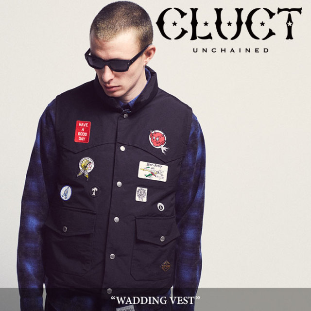 CLUCT(クラクト) WADDING VEST 【2018AUTUMN新作】【#02813】