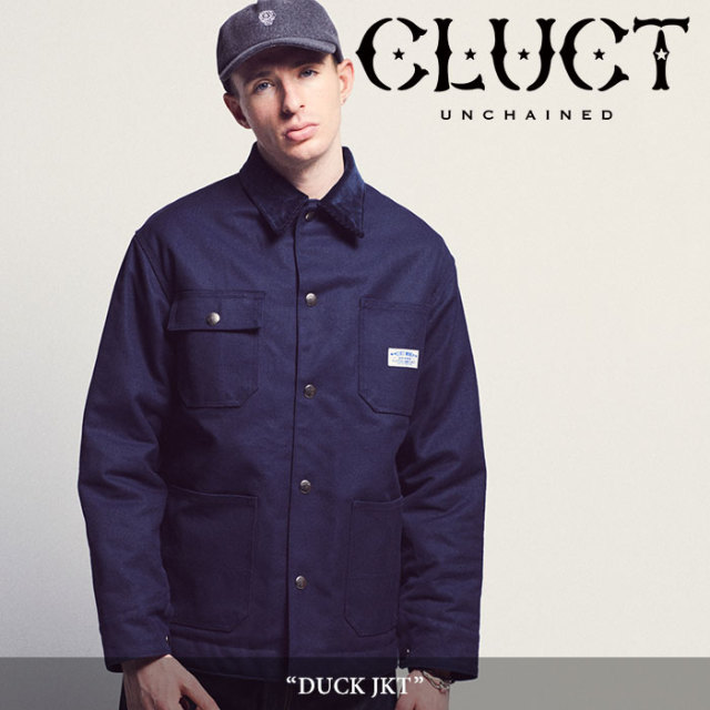 CLUCT(クラクト) DUCK JKT 【2018AUTUMN先行予約】 【送料無料】【キャンセル不可】 【#02815】