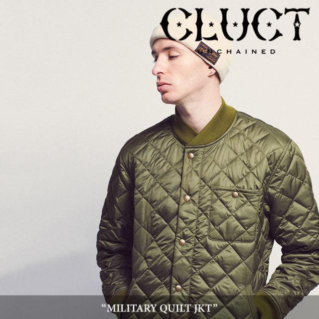 【SALE40%OFF】 CLUCT(クラクト) MILITARY QUILT JKT 【2018AUTUMN新作】 【ミリタリー キルティングジャケット】 【#02817】
