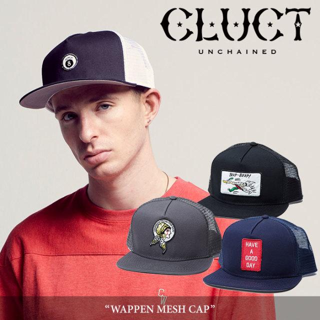 CLUCT(クラクト) WAPPEN MESH CAP 【2018AUTUMN先行予約】 【キャンセル不可】 【#02835】