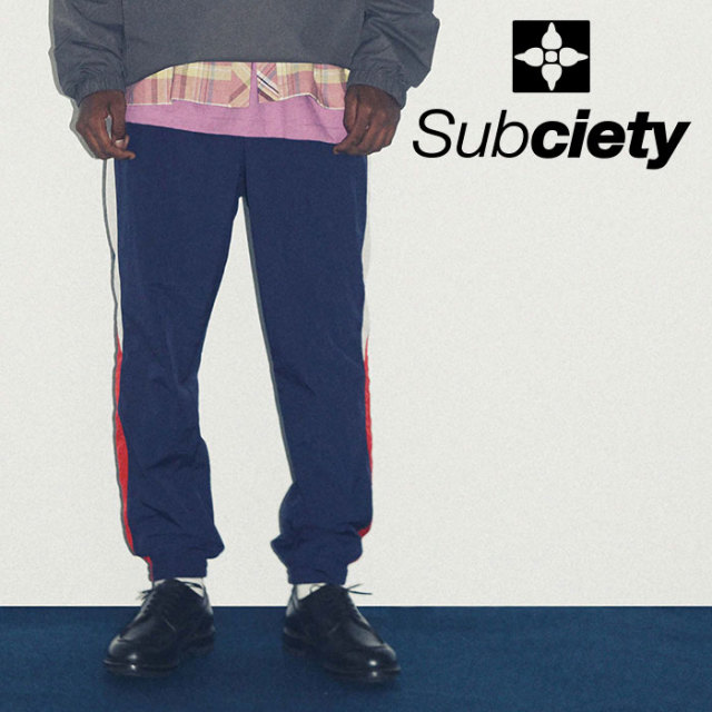 SUBCIETY(サブサエティ) NYLON PANTS 【2019SPRING先行予約】 【キャンセル不可】【108-01380】