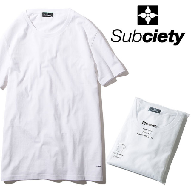 SUBCIETY(サブサエティ) PACK TEE 【2019SPRING先行予約】 【キャンセル不可】【108-40022】