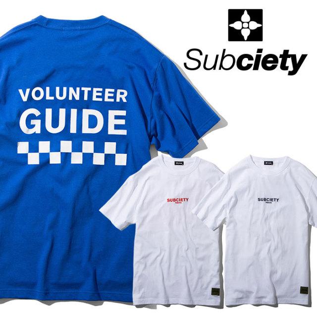 SUBCIETY(サブサエティ) VOLUNTEER S/S 【2019SPRING先行予約】 【キャンセル不可】【108-40375】