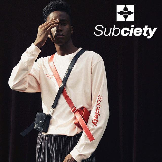 SUBCIETY(サブサエティ) Rewind L/S 【2019SPRING先行予約】 【キャンセル不可】【108-44368】